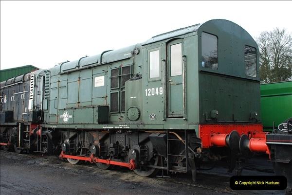 2019-02-06 Mid Hants Railway at Ropley. (27) 027