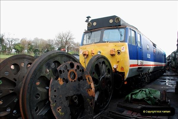 2019-02-06 Mid Hants Railway at Ropley. (29) 029