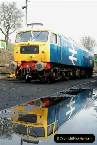 2019-02-06 Mid Hants Railway at Ropley. (32) 032