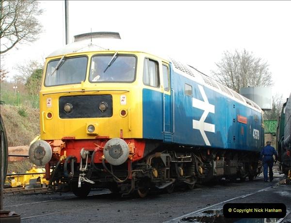 2019-02-06 Mid Hants Railway at Ropley. (33) 033
