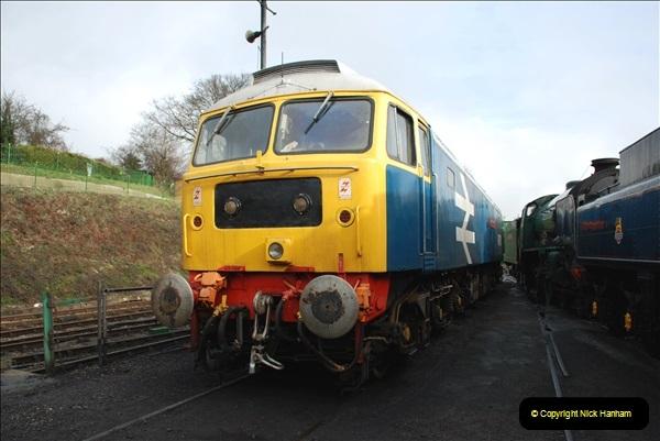 2019-02-06 Mid Hants Railway at Ropley. (34) 034