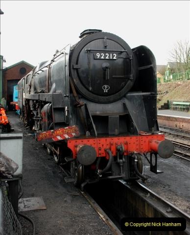 2019-02-06 Mid Hants Railway at Ropley. (37) 037