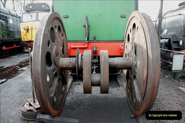 2019-02-06 Mid Hants Railway at Ropley. (38) 038
