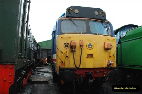 2019-02-06 Mid Hants Railway at Ropley. (41) 041