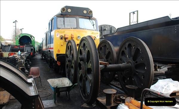 2019-02-06 Mid Hants Railway at Ropley. (42) 042