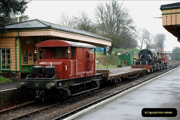 2019-02-06 Mid Hants Railway at Ropley. (44) 044