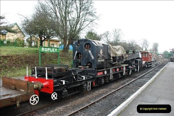 2019-02-06 Mid Hants Railway at Ropley. (45) 045
