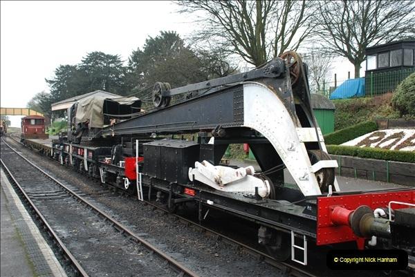 2019-02-06 Mid Hants Railway at Ropley. (47) 047