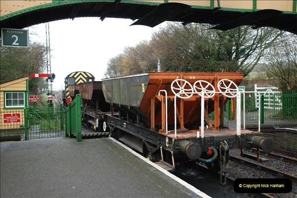 2019-02-06 Mid Hants Railway at Ropley. (48) 048