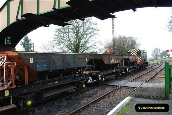 2019-02-06 Mid Hants Railway at Ropley. (50) 050