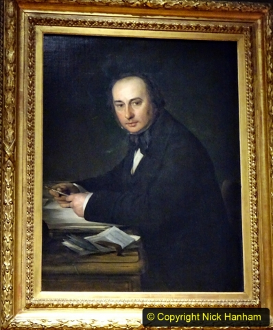 2019-12-16 The National Portrait Gallery London.  (2) Isambard Kingdom Brunel 1806 to 1859. 070