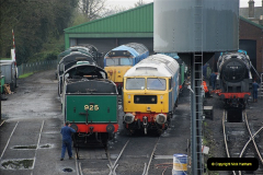 2019-02-06 Mid Hants Railway at Ropley. (19) 019