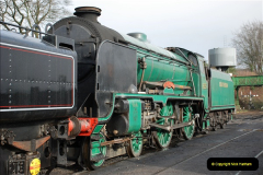 2019-02-06 Mid Hants Railway at Ropley. (22) 022