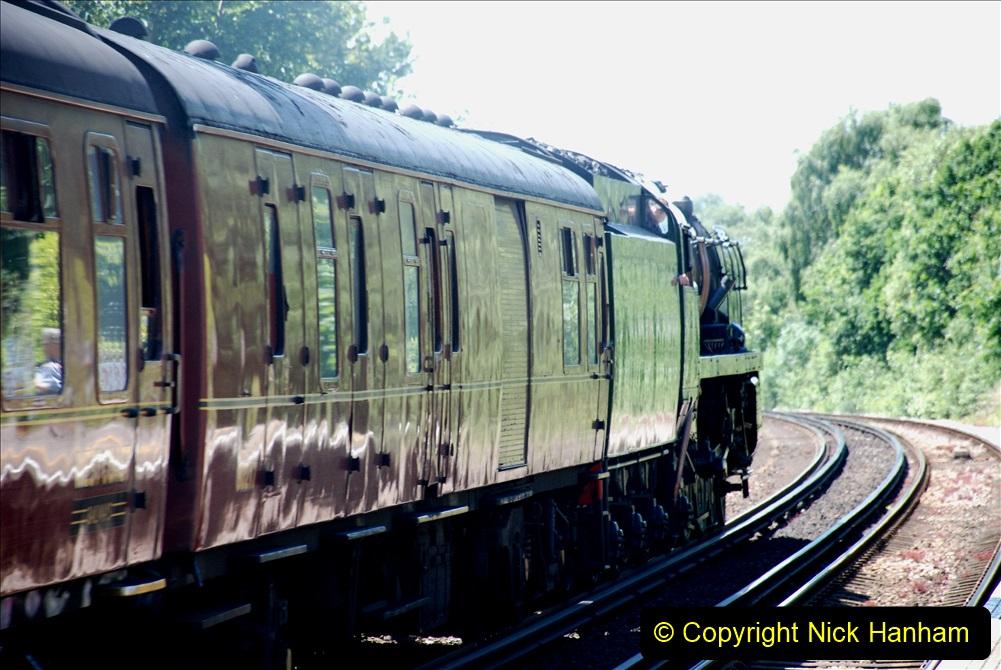 2019-07-02 - 35018 British India Line at Parkstone. (5) 005
