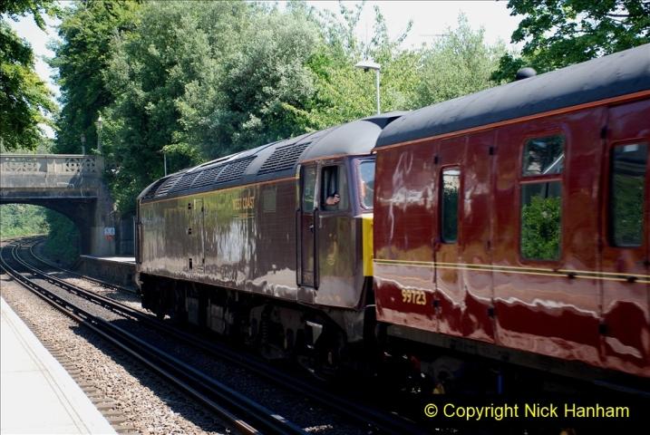 2019-07-02 - 35018 British India Line at Parkstone. (6) 006