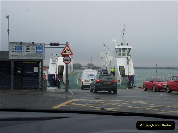 2019-02-05 Sandbanks to Studland ferry, Poole, Dorset.  (1) 008