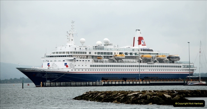2019-06-04 Boudicca at Poole on a D-Day Landings Cruise.  (5) 038
