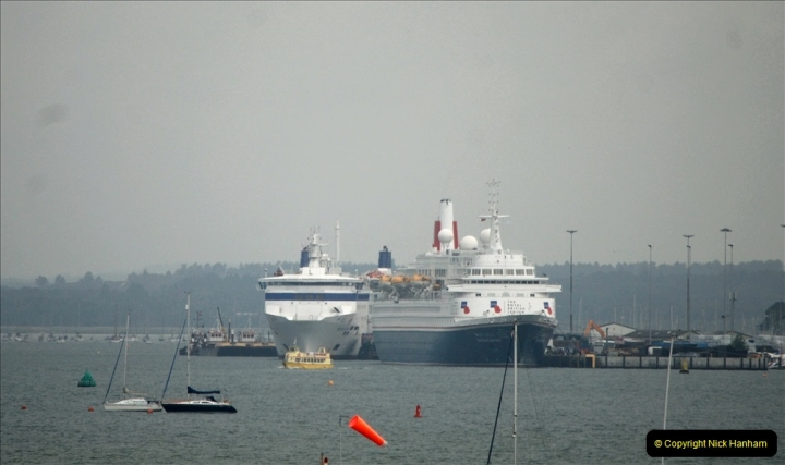 2019-06-04 Boudicca at Poole on a D-Day Landings Cruise.  (7) 040