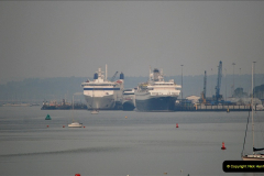 2019-04-22 Poole Harbour - MV Astoria, Brittany Ferries Barfleur & Condor Ferries Liberation. (2) 032