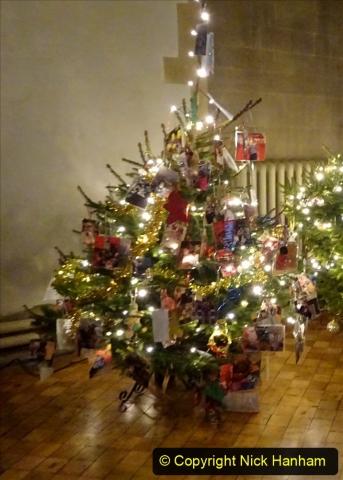 2019-12-21 St. Aldhelms Church Christmas Trees. (16) 016