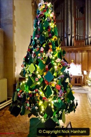 2019-12-21 St. Aldhelms Church Christmas Trees. (17) 017
