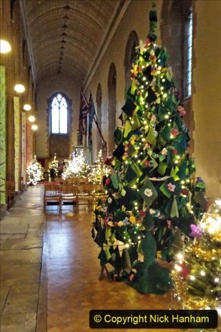 2019-12-21 St. Aldhelms Church Christmas Trees. (20) 020