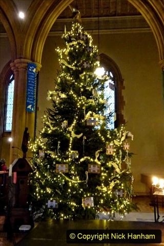 2019-12-21 St. Aldhelms Church Christmas Trees. (24) 024
