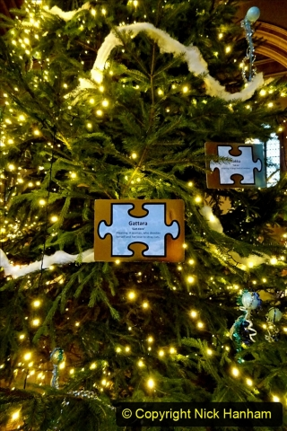 2019-12-21 St. Aldhelms Church Christmas Trees. (25) 025