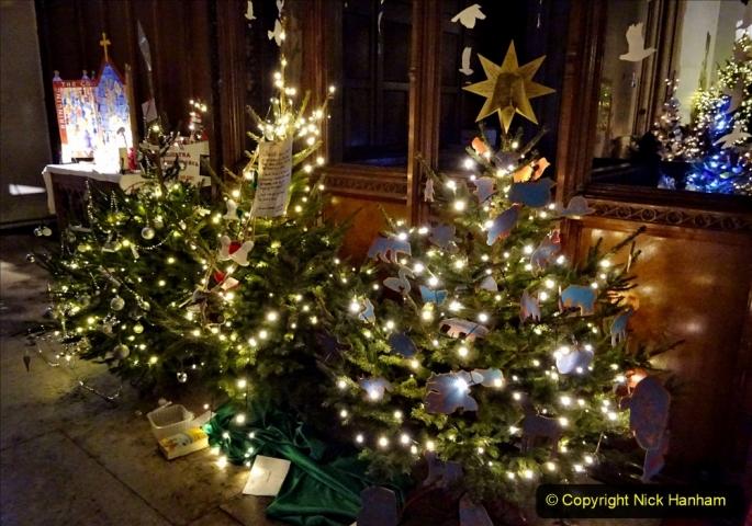 2019-12-21 St. Aldhelms Church Christmas Trees. (28) 028
