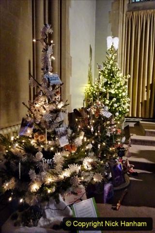 2019-12-21 St. Aldhelms Church Christmas Trees. (30) 030