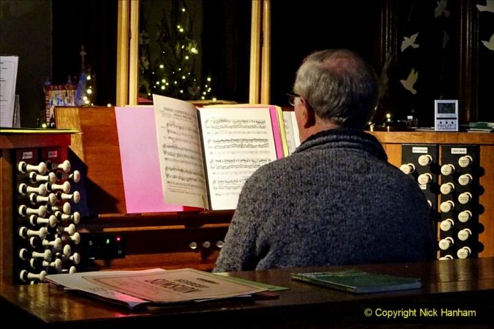 2019-12-21 St. Aldhelms Church Christmas Trees. (39) 039