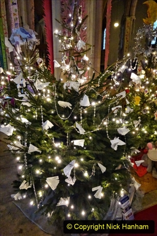 2019-12-21 St. Aldhelms Church Christmas Trees. (4) The About Face Tree. 004