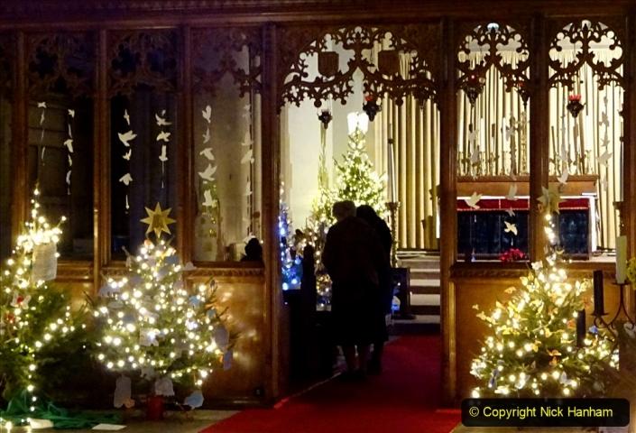 2019-12-21 St. Aldhelms Church Christmas Trees. (45) 045