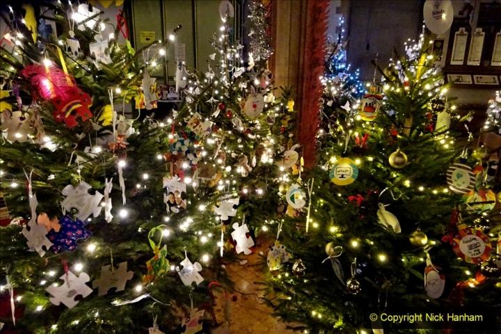 2019-12-21 St. Aldhelms Church Christmas Trees. (48) 048