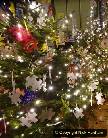 2019-12-21 St. Aldhelms Church Christmas Trees. (49) 049