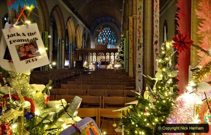 2019-12-21 St. Aldhelms Church Christmas Trees. (52) 052