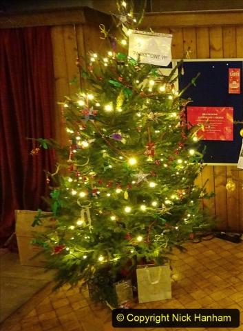2019-12-21 St. Aldhelms Church Christmas Trees. (53) 053