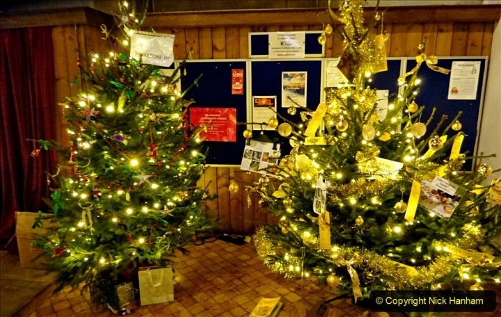 2019-12-21 St. Aldhelms Church Christmas Trees. (54) 054