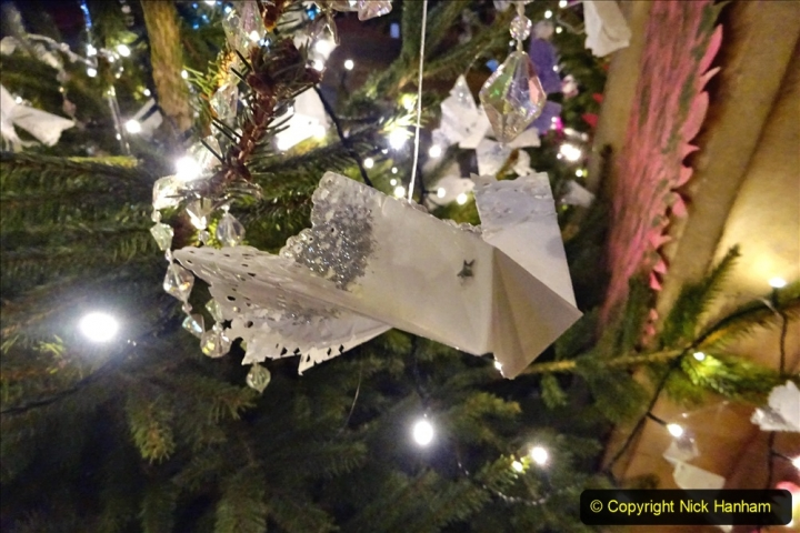 2019-12-21 St. Aldhelms Church Christmas Trees. (8) The About Face Tree. 008