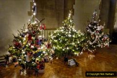 2019-12-21 St. Aldhelms Church Christmas Trees. (15) 015