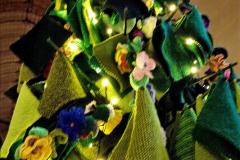 2019-12-21 St. Aldhelms Church Christmas Trees. (19) 019