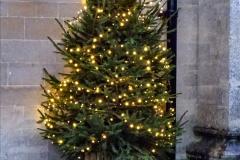 2019-12-21 St. Aldhelms Church Christmas Trees. (2) 002