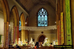 2019-12-21 St. Aldhelms Church Christmas Trees. (21) 021