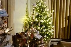 2019-12-21 St. Aldhelms Church Christmas Trees. (31) 031