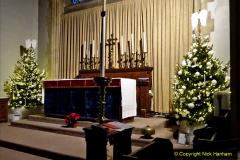 2019-12-21 St. Aldhelms Church Christmas Trees. (37) 037