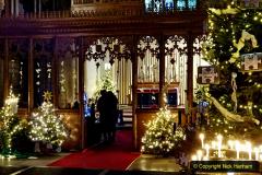 2019-12-21 St. Aldhelms Church Christmas Trees. (44) 044