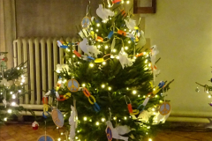 2019-12-21 St. Aldhelms Church Christmas Trees. (47) 047