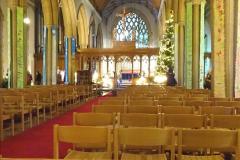 2019-12-21 St. Aldhelms Church Christmas Trees. (55) 055