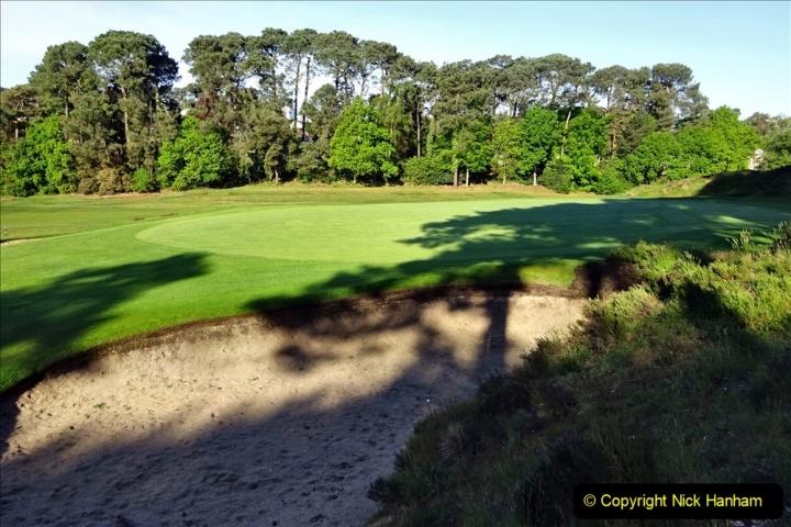 2020-05-04 Covid 19 walk Parkstone Golf Club Poole, Dorset.  (20) 020
