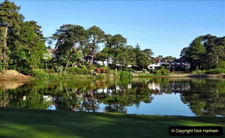 2020-05-04 Covid 19 walk Parkstone Golf Club Poole, Dorset.  (37) 037